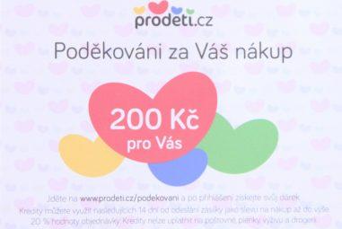 E-shop Proděti.cz – spolehlivé dodání