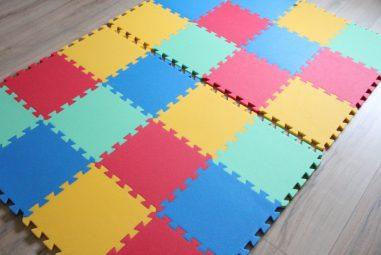 Malý Genius Pěnový koberec 16 mm MAXI silný 24 dílků
