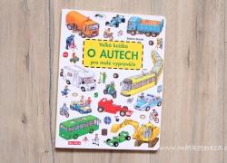 Recenze Velké knížky o autech pro malé vypravěče