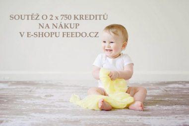 Soutěž s Feedo.cz o 2 x 750 kreditů (Kč) na nákup