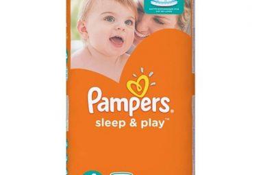Pleny Pampers Sleep&Play (2017)